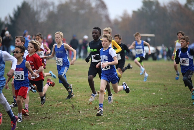 Mercy students represent in a big way at the 2018 Cross Country Coaches Nationals Youth Championships in Louisville Kentucky