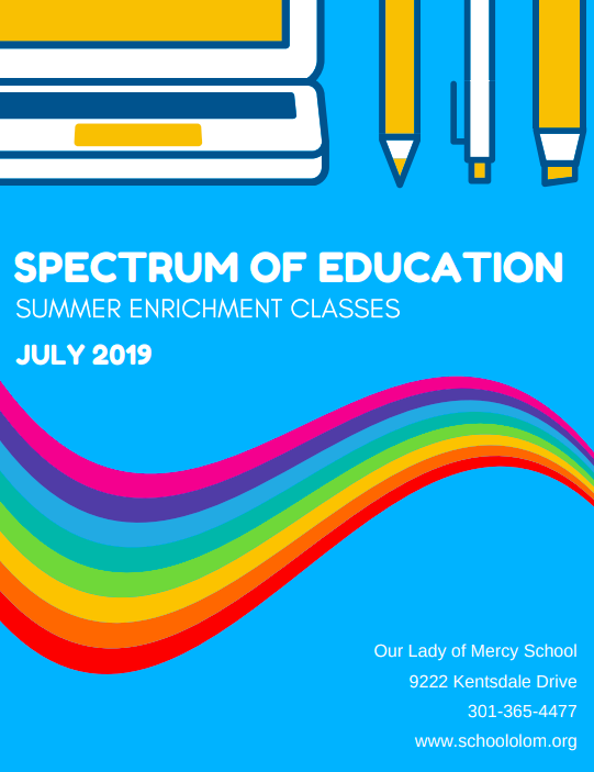 Summer Spectrum of Education 2019 - Registration Now Open!